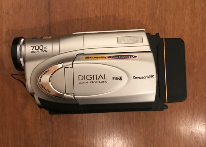 JVC VHS camcorder  - 1