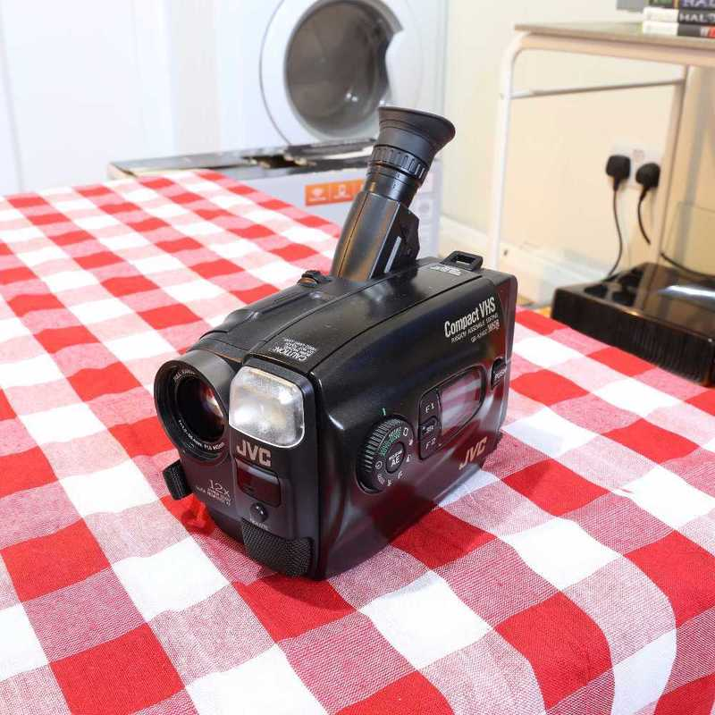 JVC VHS-C Camcorder VHS Retro Look - 1