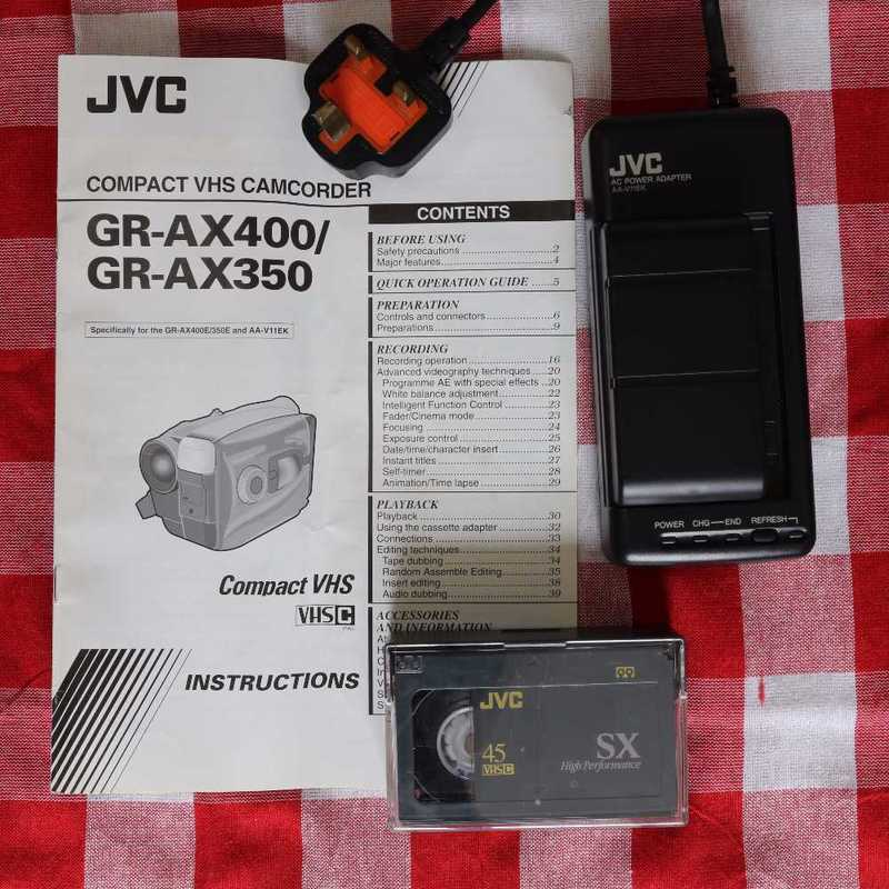 JVC VHS-C Camcorder VHS Retro Look - 2
