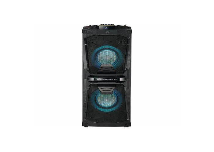 JVCMX-D528B Bluetooth Megasound Party Speaker - Black - 1