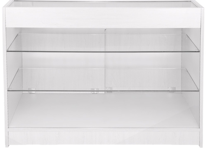 K1200 Retail Product Display Cabinet - Brilliant White - 2