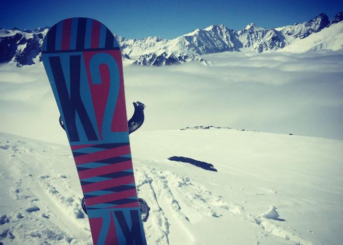K2 Playback snowboard 155cm + Burton Cartel Bindings - 1