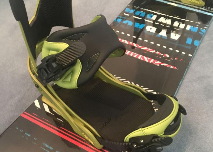 K2 Playback snowboard 155cm + Burton Cartel Bindings - 2
