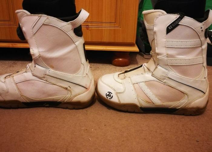 K2 Raider Boa Snowboard boots size UK 9 - 2
