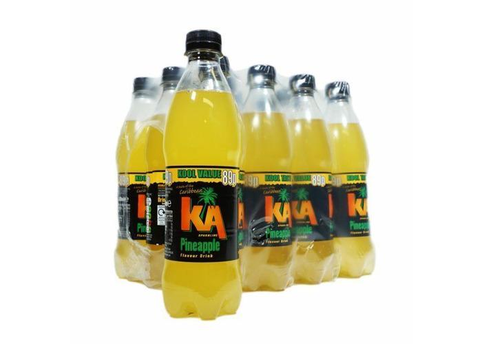 KA SPARKLING FRUIT PUNCH Fizzy Drink  12 X 500ML BOTTLES - 2