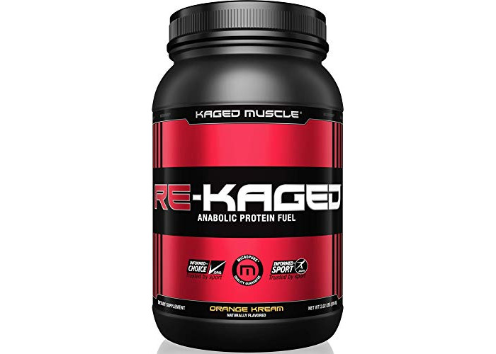 Kaged Muscle Post Workout Protein Powder, Orange Kream, Pack of 20 Servings - 1