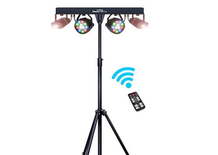 Kam Cluster FX-Bar LED lighting and Laser Package  - 1