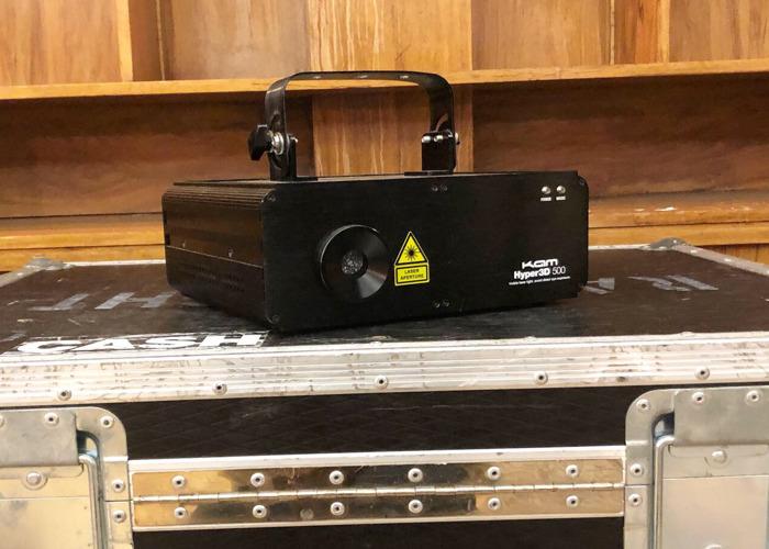 KAM Laserscan Hyper3D multicolour laser - 1