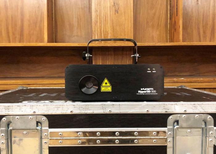 KAM Laserscan Hyper3D multicolour laser - 2