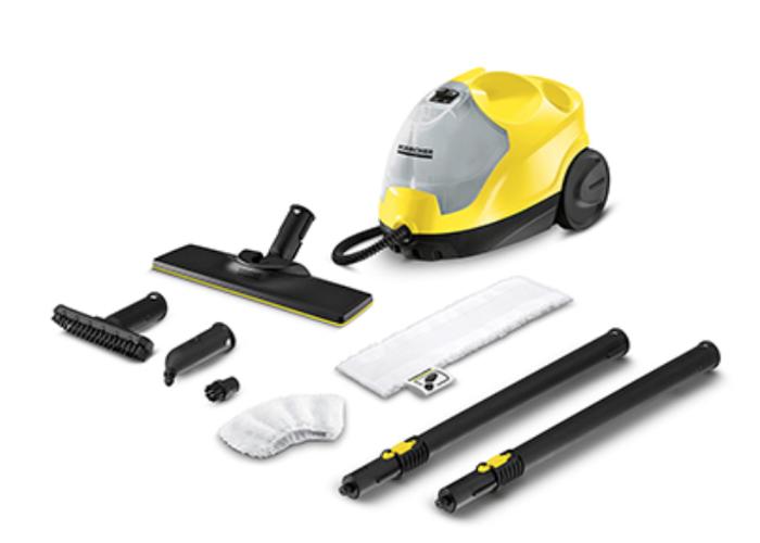 KARCHER - SC4 Steam Cleaner - Yellow & Black - 1