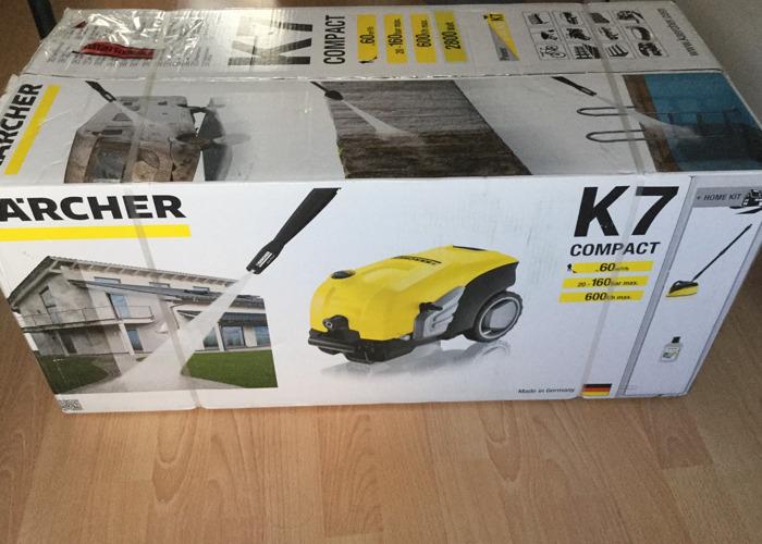 Karcher K7 Compact High Pressure Washer - 1