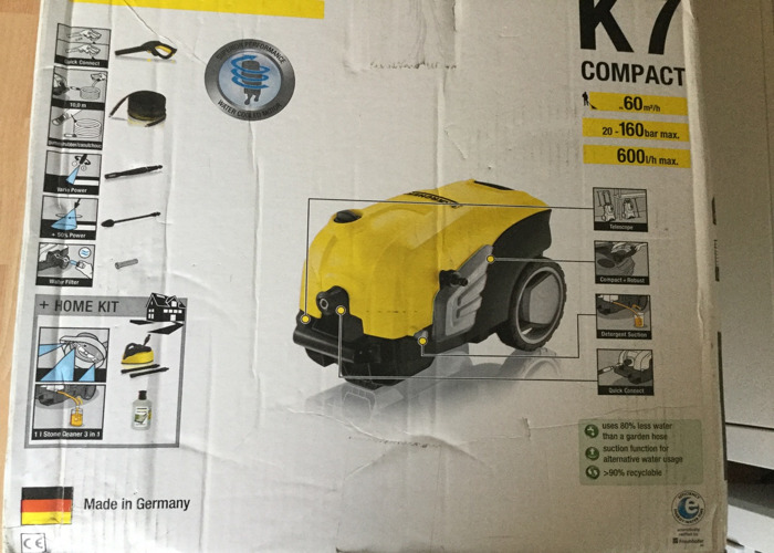 Karcher K7 Compact High Pressure Washer - 2
