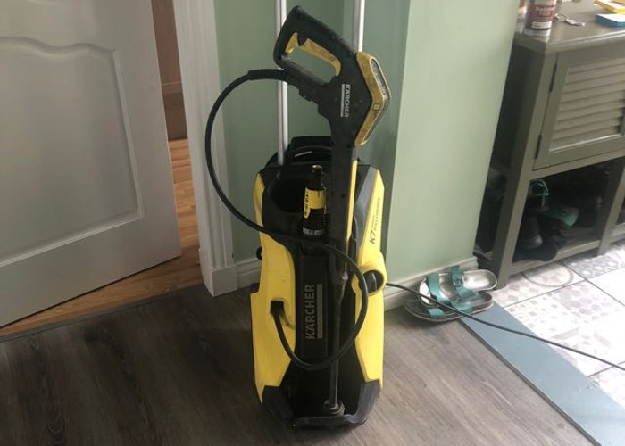 Karcher K7 with drain unblocking hose and patio cleaner - 1