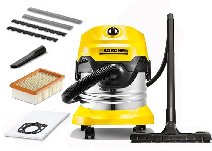 Karcher WD4 Wet & Dry Vacuum Car Home Cleaner - Premium - 1