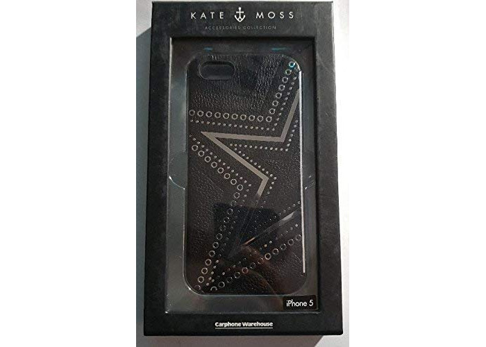 Kate Moss Rockstar Hard shell Cover for iPhone 5 - Black - 1