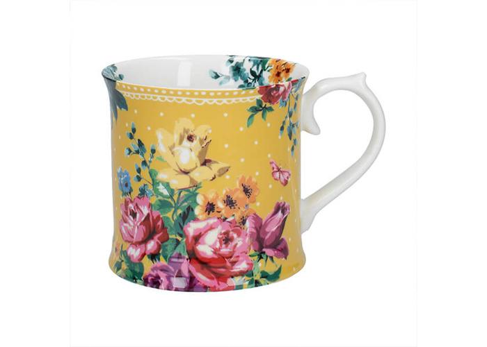Katie Alice Bohemian Spirit Mustard Tankard Mug - 1