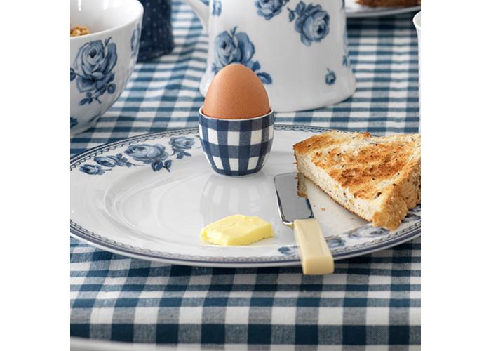 """Katie Alice """"Vintage Indigo"""" Egg Cups, Blue, 4-Piece - 2"""