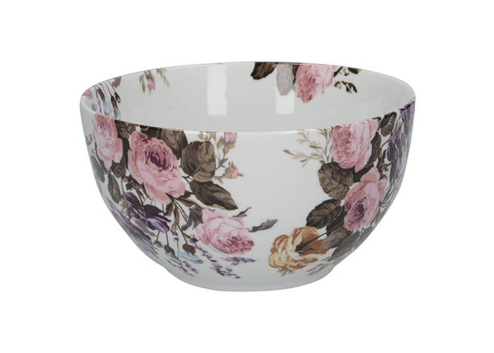 Katie Alice Wild Apricity Floral Cereal Bowl - 1