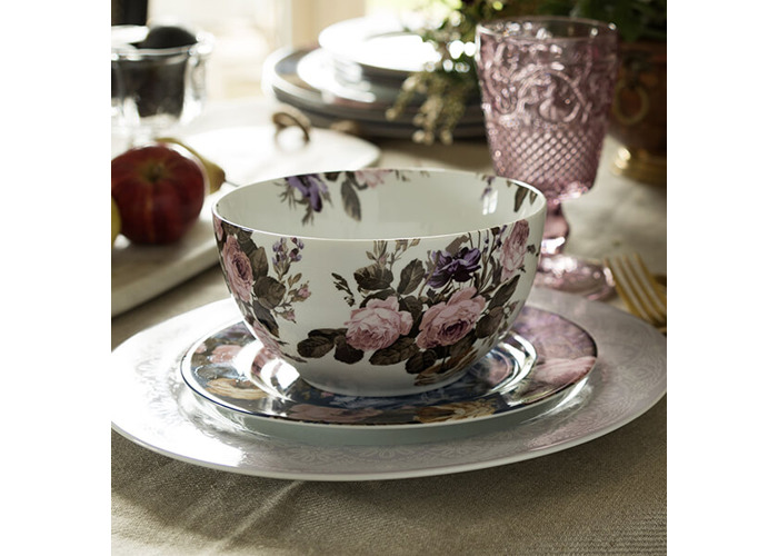Katie Alice Wild Apricity Floral Cereal Bowl - 2