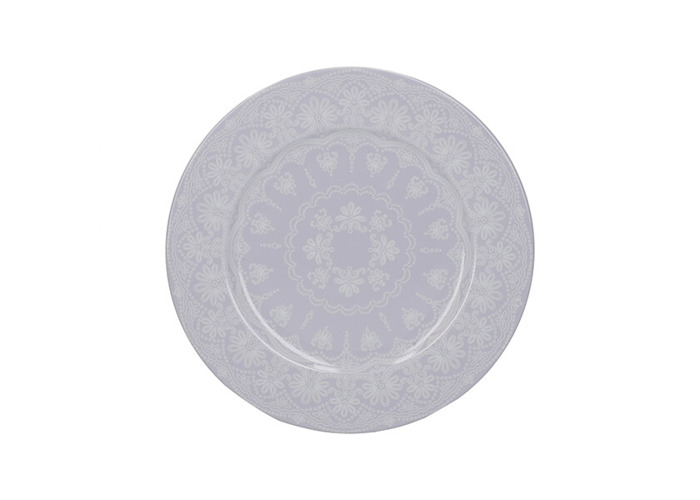 Katie Alice Wild Apricity Lace Grey Side Plate - 1