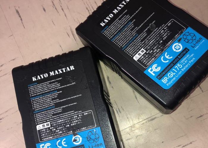 Kayo Maxtar V-Lock Battery 177wh - 1