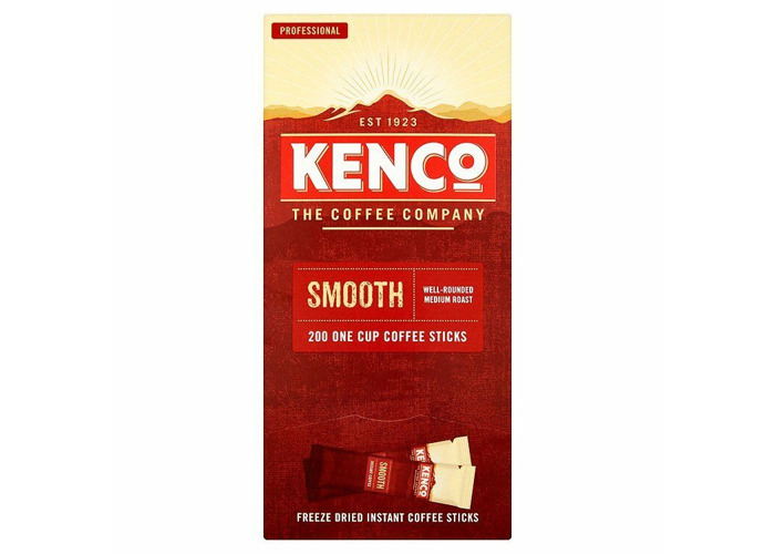 Kenco Really Smooth 200 Stick Sachets  CHEAPEST BARGAIN - 1