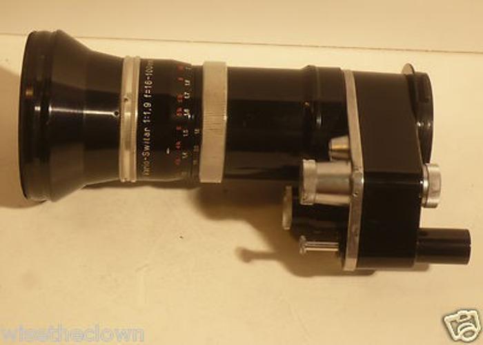 KERN Vario-Switar 1:1.9 16-100mm c-mount - 2