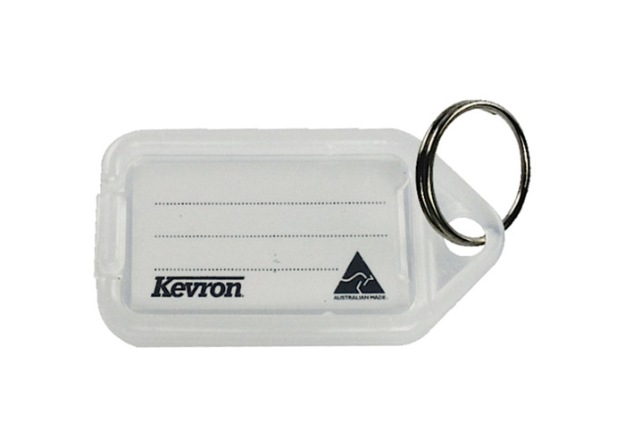 KEVRON ID30 Giant Tags Bag of 25 - Clear x 25 - 1