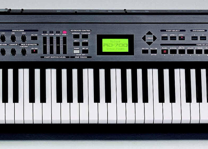 Keyboard - Stage Piano (Roland RD700) Weighted Touch - 2