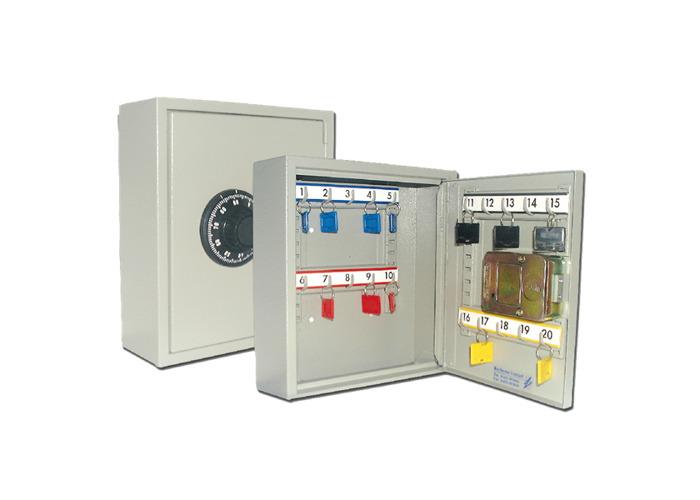 KEYSECURE KS Combination Key Cabinet - GREY 20 Key - 1