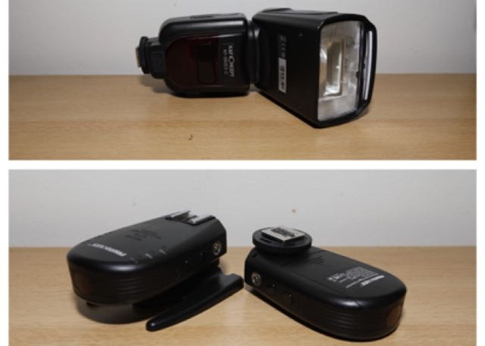 KF 590EX C Flash with 2 transmitters  - 1