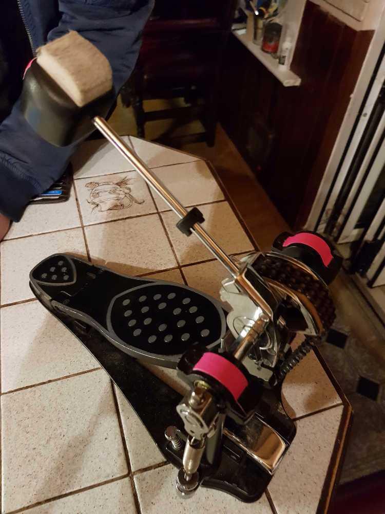 Kick drum pedal. Bass drum pedal - 1