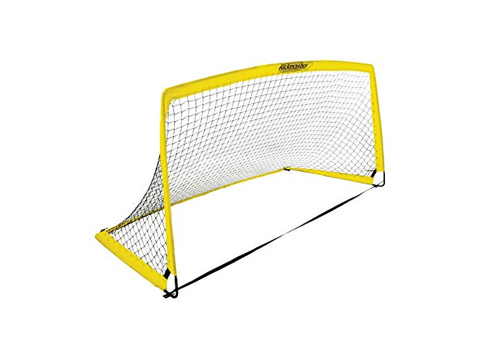Kickmaster Kids' Fibreglass Goal, Yellow, 6 ft - 1