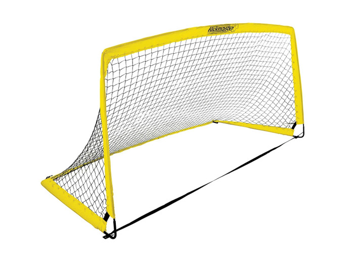 Kickmaster Kids' Fibreglass Goal, Yellow, 6 ft - 2