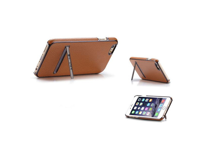 Kickstand Synthetic Leather For iPhone 6 6S 6Plus & 6S Plus - 2