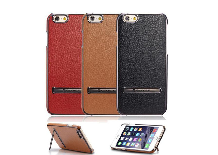 Kickstand Synthetic Leather For iPhone 6 6S 6Plus & 6S Plus - 1