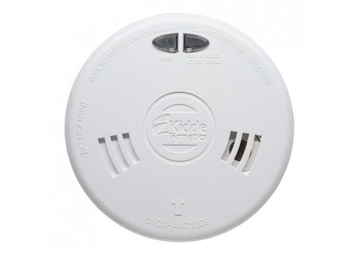 Kidde Slick 2SFW Optical Smoke Alarm - Mains Powered With Wireless Capability - 1