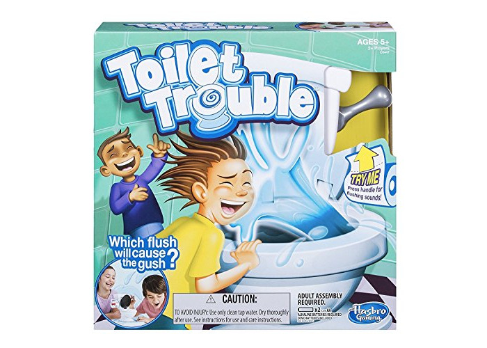 Kids Toy Toilet Trouble Game Washroom Tricky Toys Funny Game Parents-kids Friends Play Together for Fun as a Gift - 1