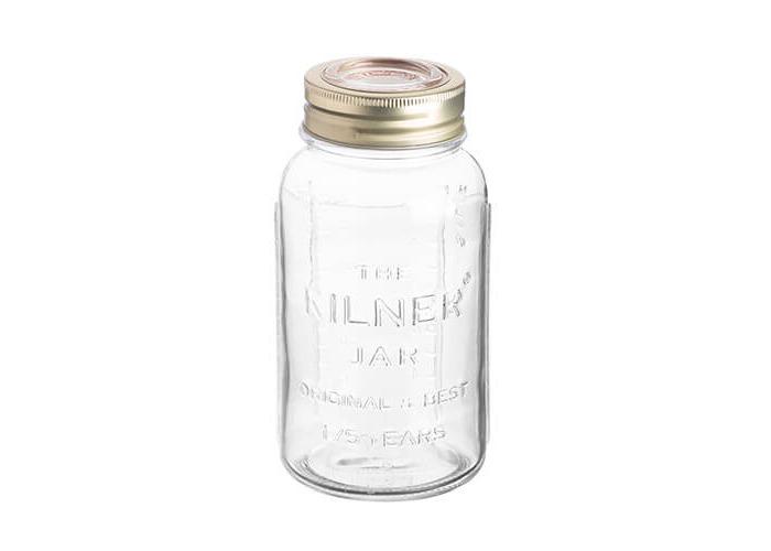 Kilner Anniversary Storage Jar, Transparent, 0.75 Litre - 1