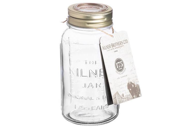 Kilner Anniversary Storage Jar, Transparent, 0.75 Litre - 2