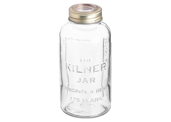 Kilner Anniversary Storage Jar, Transparent, 1.5 Litre - 1