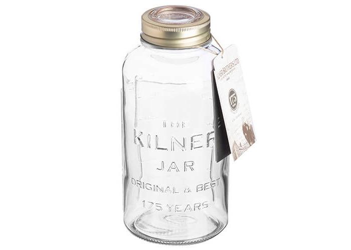 Kilner Anniversary Storage Jar, Transparent, 1.5 Litre - 2