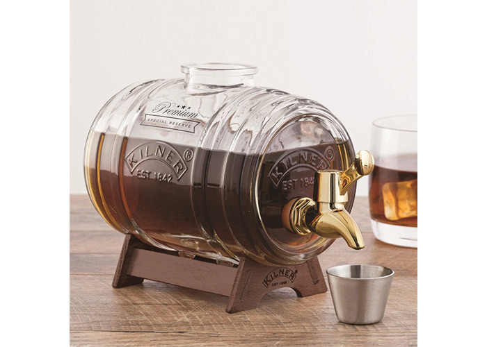 Kilner Barrel Drinks Dispenser With Brass Tap 1 Litre - 2