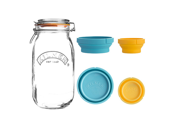 Kilner Measure And Store Jar Set 2 Litre - 1