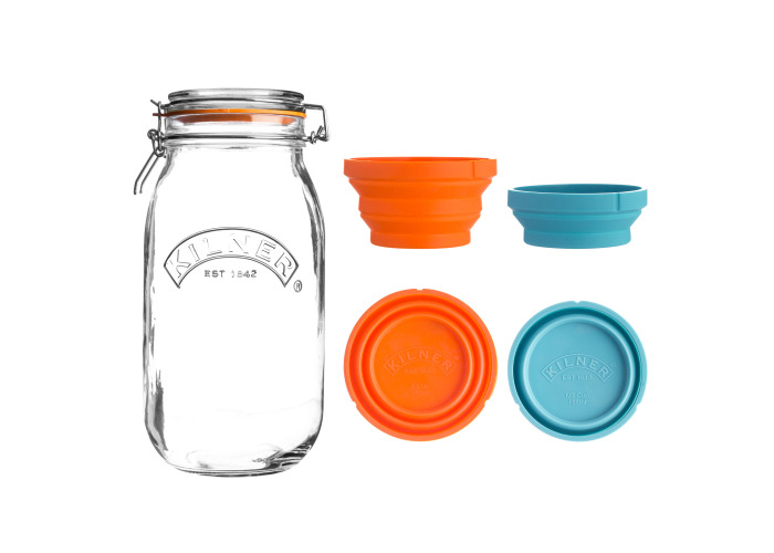Kilner Measure And Store Jar Set 3 Litre - 1