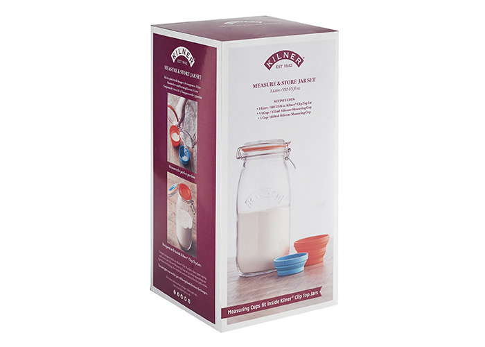 Kilner Measure And Store Jar Set 3 Litre - 2