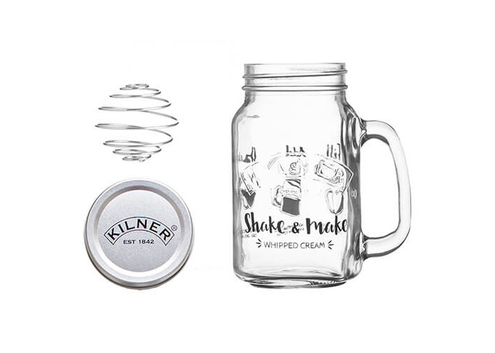 Kilner Shake & Make - Whipped Cream - 1