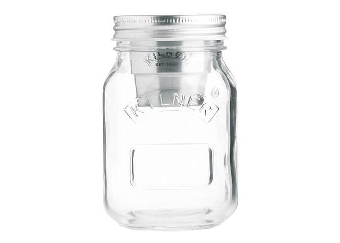 Kilner Snack On The Go Jar, Transparent, 500 ml - 1