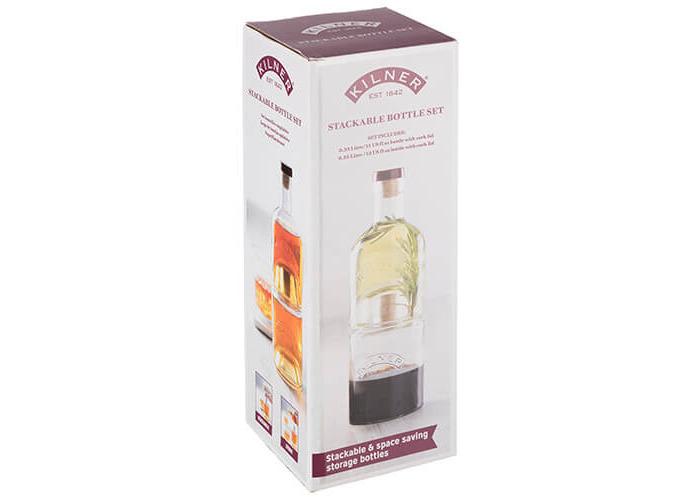 Kilner Stackable 2 Piece Bottle Set - 2