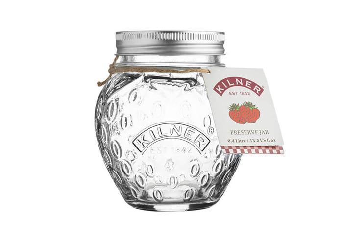 Kilner Strawberry Fruit Preserve 400ml Jar - 2